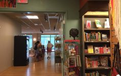 Northshire Bookstore Entrance to Berkshire Mountain Bakery in Saratoga Springs NY