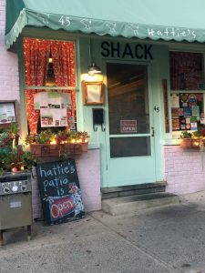 Hattie's Restaurant Saratoga Front Door