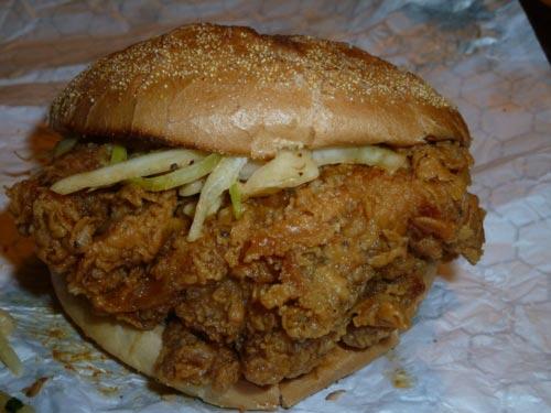 Hattie's classic fried chicken