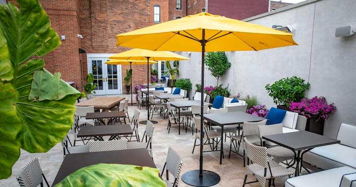 Wine & Beer Garden at Adelphi Hotel