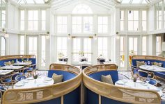 dining room in blue hen restaurant